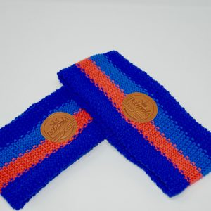 Cinta De Hilo Azul-Naranja